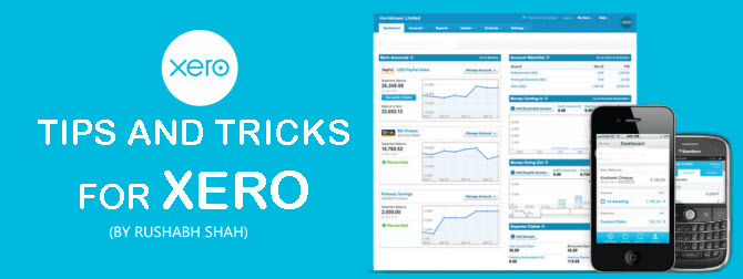 Tips and Tricks for Xero