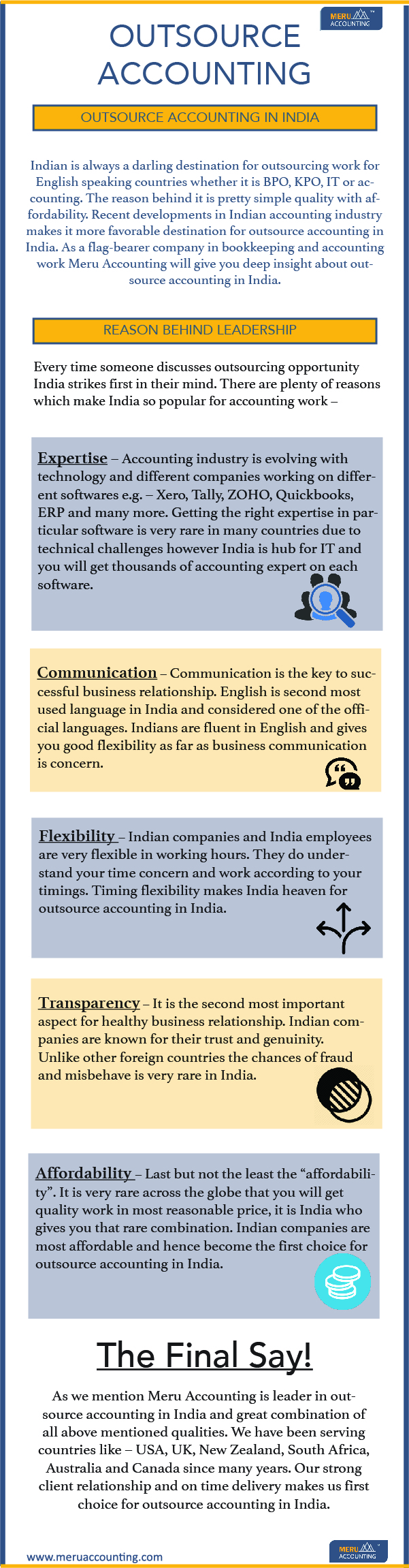 Outsource Accounting in India